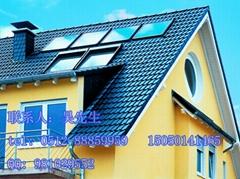 高效平板太阳能热水工程