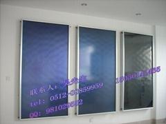 进口蓝膜平板太阳能集热器
