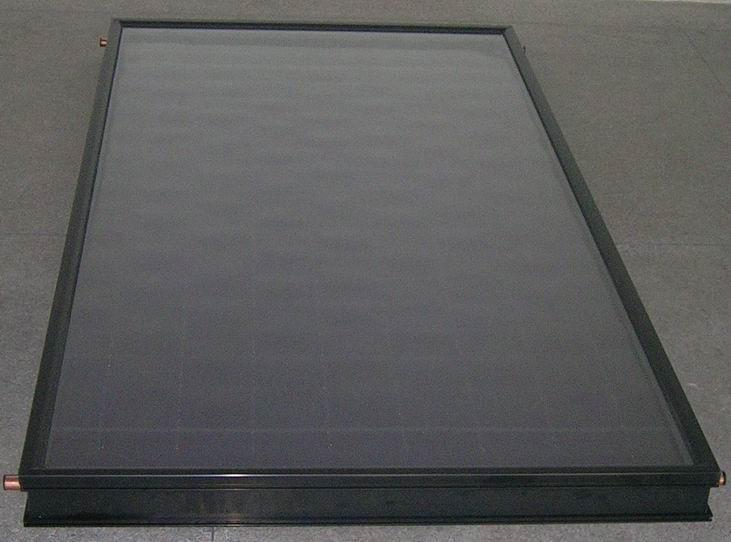 高效蛇型管平板太阳能集热器 4