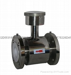 All stainless steel (304) electromagnetic flowmeter