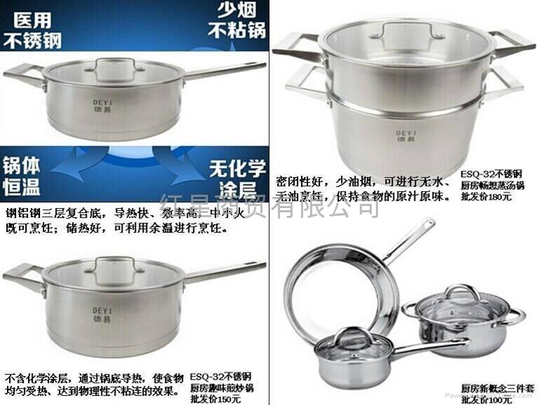 不鏽鋼鍋 1