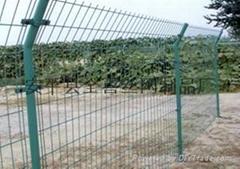 现货供应双边丝护栏网