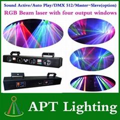 RGB step motor laser stage lighting