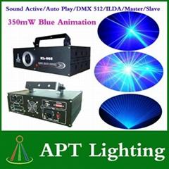 350mW Blue aniamtion laser stage Lighting