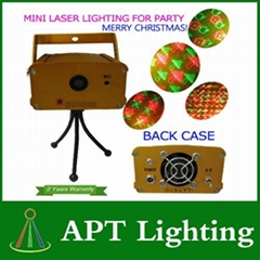 New effect of MINI laser lighting for Christmas Day and for party