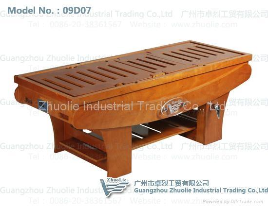 纯木制熏蒸床 2