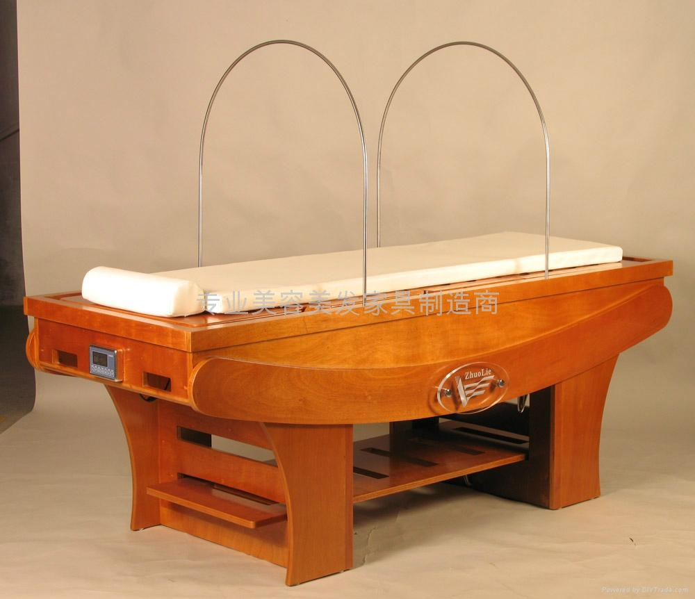 純木製燻蒸床 3