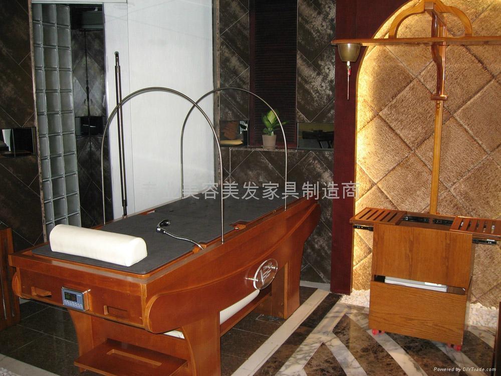 纯木制熏蒸床 4