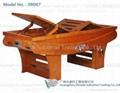纯木制熏蒸床