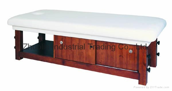 wooden beauty massage bed for sale 2