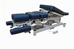 静音板电动美式整脊床