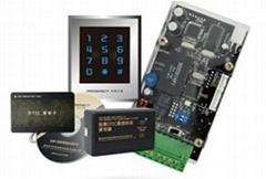 Fingerprint management control system of elevator