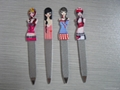 Fashionable and lovely cartoon nail file, nail file stainless steel