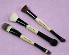 Manufacturers OEM Bamboo handle Multi-function Double head brush