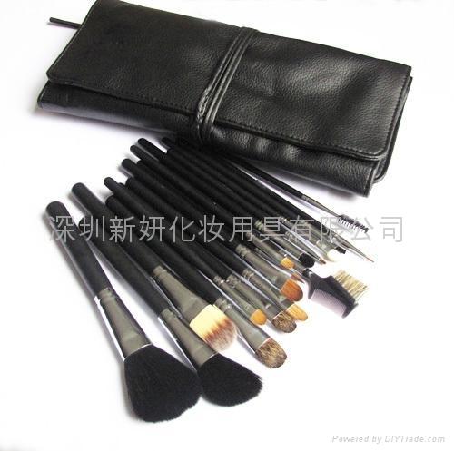 厂家供应高档化妆师专用羊毛化妆套刷 可定制 2