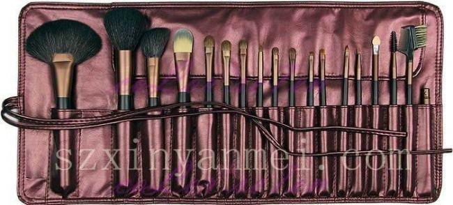 新妍美厂家供应18支化妆套刷 专业化妆套刷 2