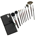 XINYANMEI Manufactury Supply Black makeup brush set  2