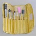 新妍美厂家供应精美化妆套刷7只装 PU化妆包 美容美妆化妆工具 4