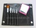 新妍美厂家供应精美5支装化妆套刷附带镜子 可定制 美妆美容工具 3