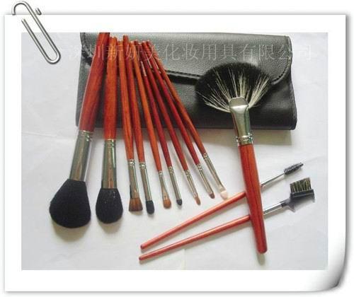 新妍美厂家供应化妆刷12支装 美容美妆工具 3