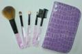 Manufacturers OEM Portable mini 5 Makeup Brush Set 2