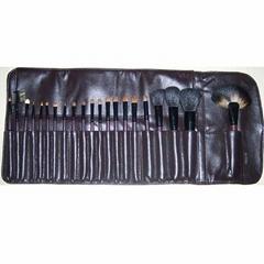 廠家供應彩妝刷子套裝動物毛專業20支化妝掃美妝用具 可定製