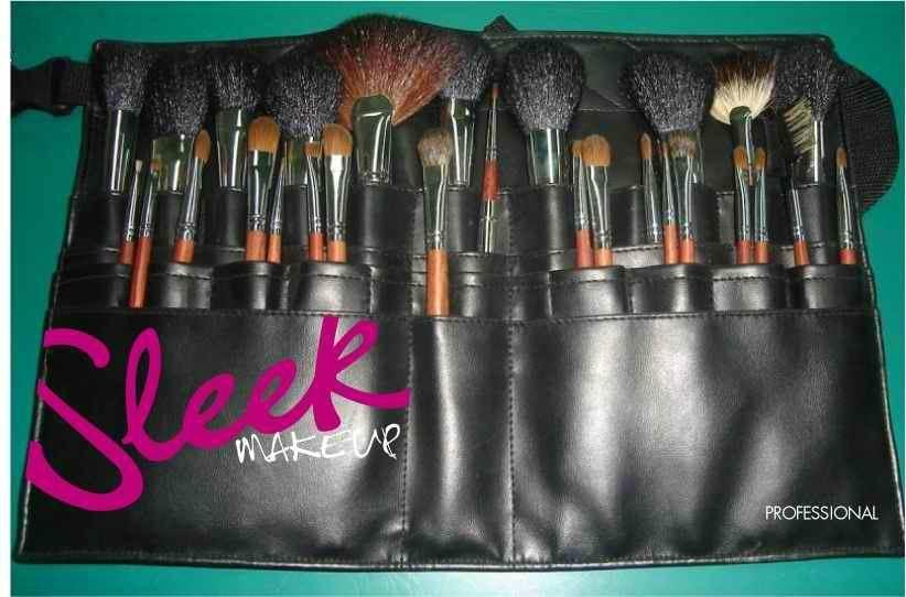 厂家供应高质量动物毛 水貂灰鼠 松鼠黄狼毛化妆套刷美容工具 4