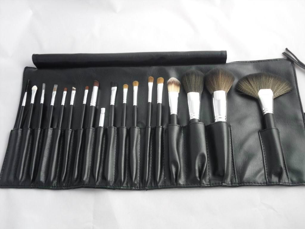 mac black makeup brush set xy bs155 xinyan china. Black Bedroom Furniture Sets. Home Design Ideas