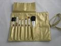 Manufacturers Beginners apply tools 7 pcs Wooden/Plastic handle makeup brush 3