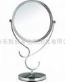 新妍美供应精美站立式化妆铁架台镜可做礼品可定制 5