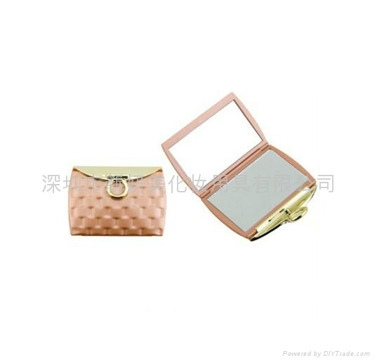 新妍美供應精美錢包狀便攜款禮品化妝鏡 可定製 1