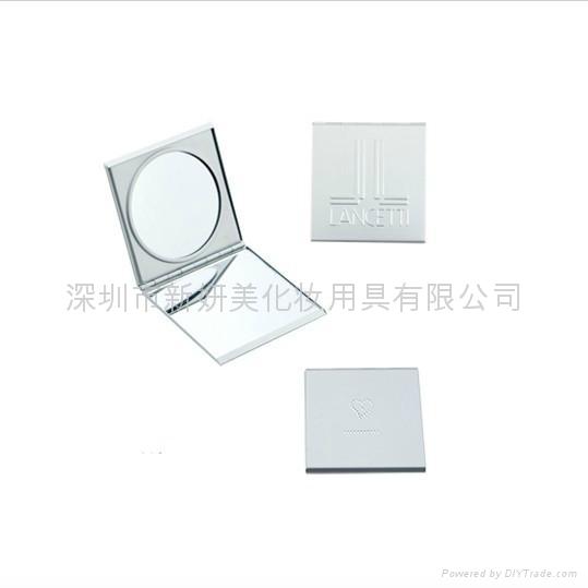 新妍美供應鋁合金便攜帶禮品款化妝鏡 可定製 1