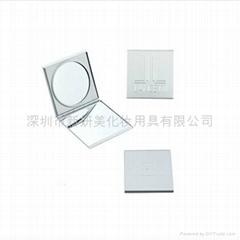 新妍美供应铝合金便携带礼品款化妆镜 可定制