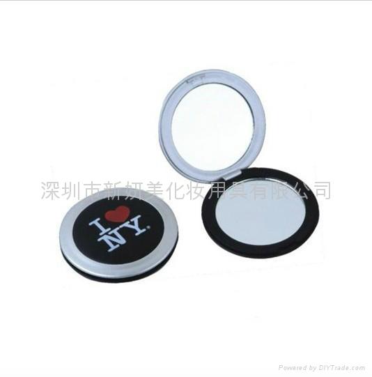 新妍美供應圓形輕便易攜帶禮品化妝鏡 可定製 2