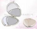 新妍美供應心型塑料化妝鏡 便攜款化妝鏡 2