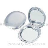 新妍美供应塑料精美便携款化妆镜 可定制