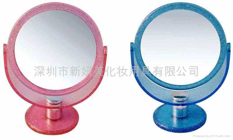 新妍美供应高级精致摆台化妆镜 可定制 2