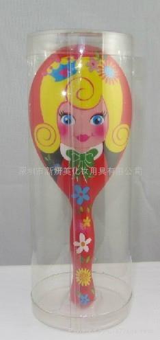 新妍美供應時髦公主金屬材質便攜款化妝鏡 可定製 3