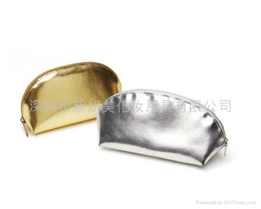 新妍美供應精美時尚皮革化妝包 化妝刷收納包 2