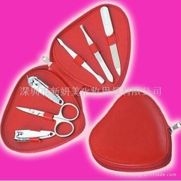 新妍美供應心型6支裝美甲套裝 美甲工具套裝 2