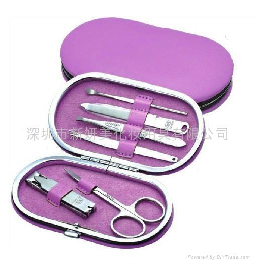 新妍美供应护理不锈钢美甲工具美容套装铁框盒 1