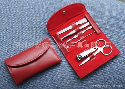 新妍美供应OEM美容用品指甲护理套装工具 5