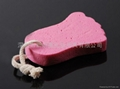 XINYANMEI Supply Foot Shape Pumice Stone Can OEM/ODM
