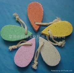 新妍美供应可爱多色美足工具浮石 祛死皮磨脚器