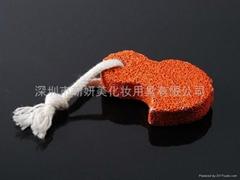 新妍美供應可愛小鳥磨腳祛死皮工具 浮石 美甲美足工具