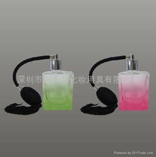 新妍美供应新款精美流苏玻璃喷雾瓶 水晶玻璃瓶 1