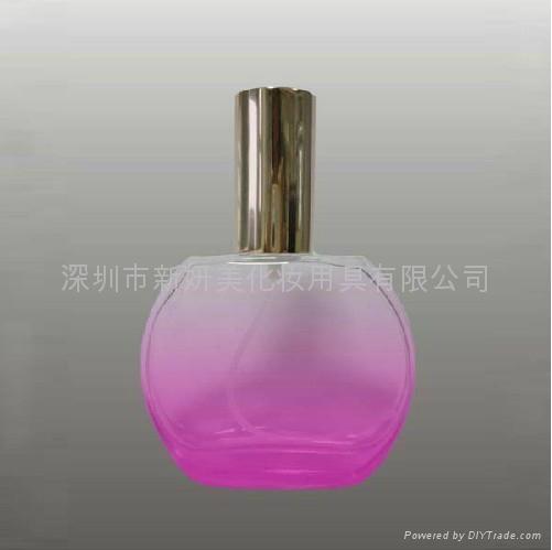 新妍美供應精美小巧50毫升玻璃香水瓶 便攜款香水瓶 3