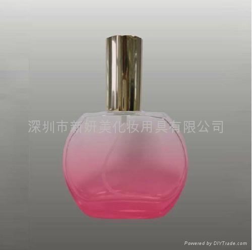 新妍美供应精美小巧50毫升玻璃香水瓶 便携款香水瓶 4