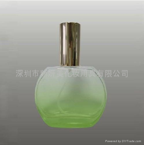 XINYANMEI Supply 50ml Colored Glass Perfume Bottle 5