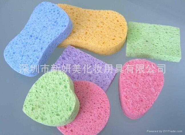 新妍美供應奢華柔軟適用於嬰儿肌膚化妝粉撲 2